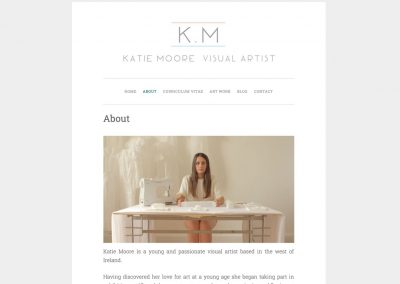 Katie Moore – Visual Artist