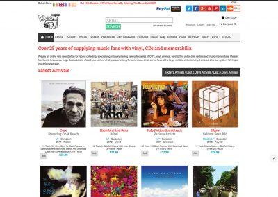 Vinyl Tap – eCommerce