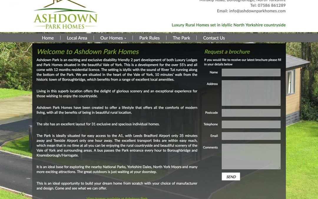 Ashdown Park Homes