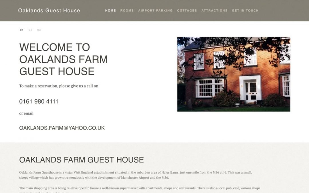 Oaklands Farm Guest House