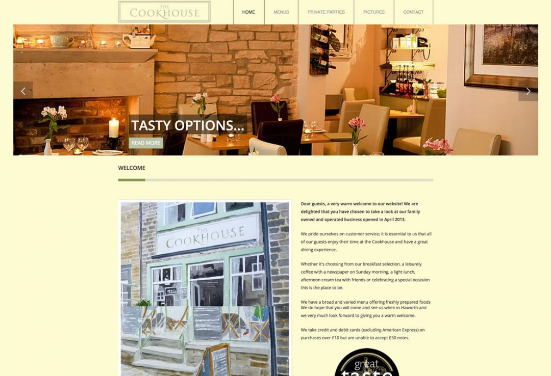 The Cookhouse – Haworth