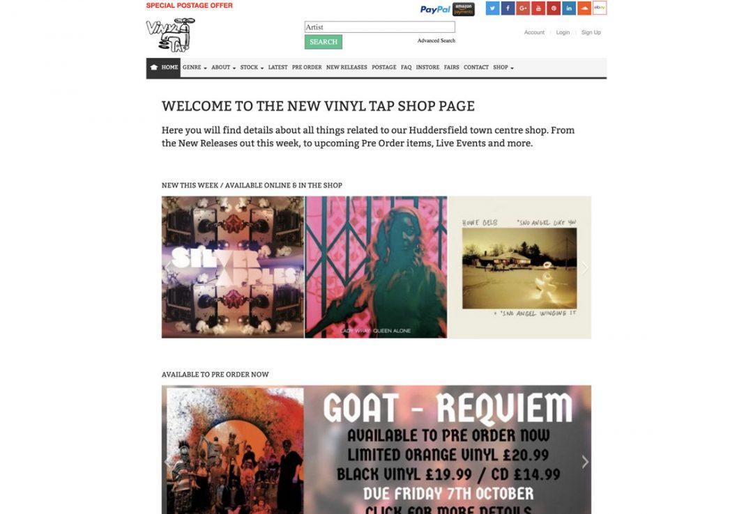 Vinyl Tap – Blog